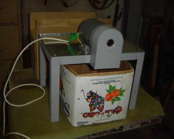 电动蜡烛刨头机